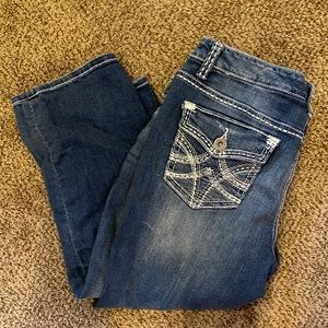 🍊EUC Maurices Denim Capris